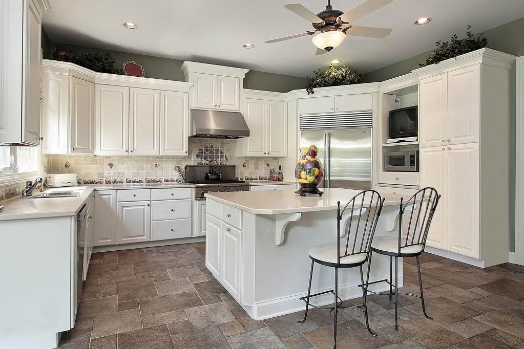 White stools for kitchen Photo - 5