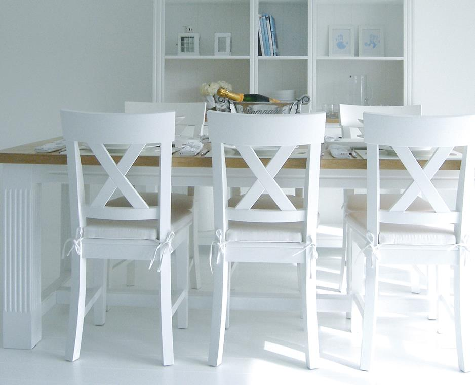 White Wood Kitchen Table Ideas