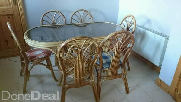Wicker kitchen chairs Photo - 5