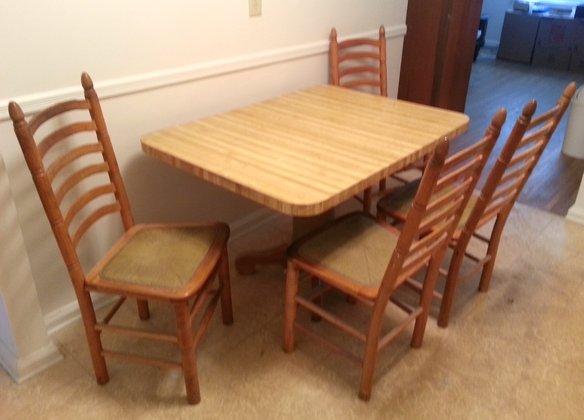 Wicker kitchen chairs Photo - 7