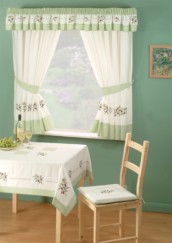 Window curtains for kitchen Photo - 9