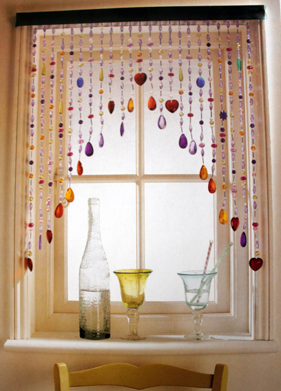 Window curtains for kitchen Photo - 10