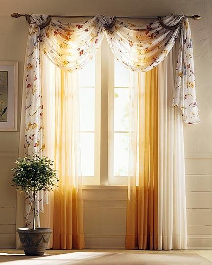 Window curtains for kitchen Photo - 7