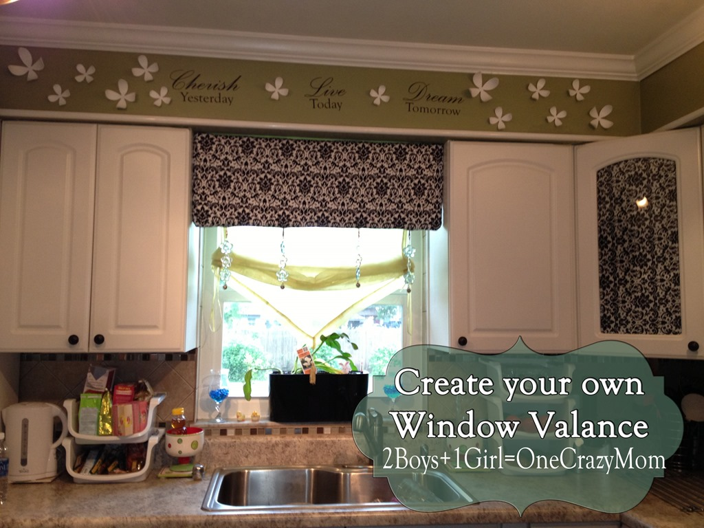 Window toppers for kitchen Photo - 11