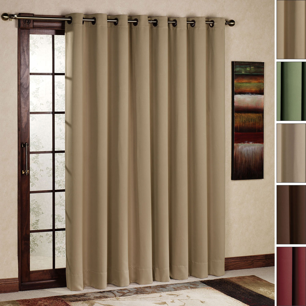 Window treatments for sliding glass doors in kitchen Photo - 9