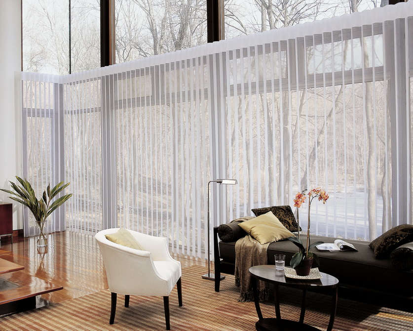 window treatments for sliding glass doors in kitchen photo 11 - Sliding Glass Door Window Treatments