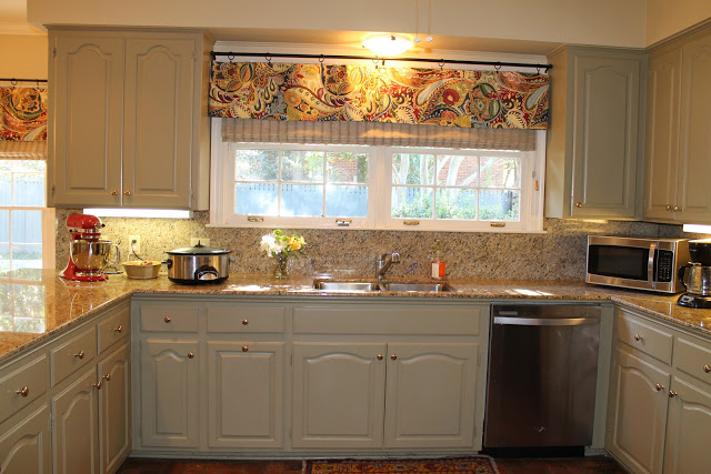 Window valances for kitchen Photo - 10