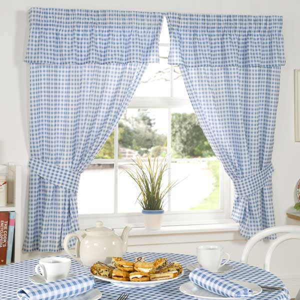 Window valances for kitchen Photo - 12
