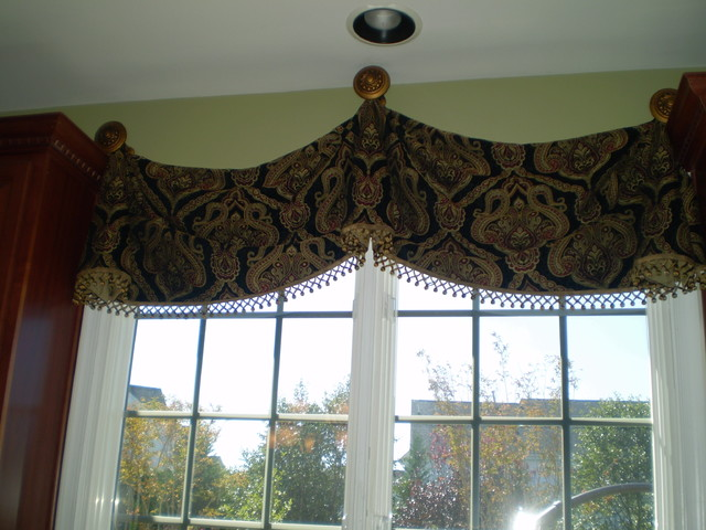 Window valances for kitchen Photo - 8