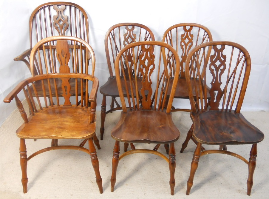 Windsor kitchen chairs Photo - 6