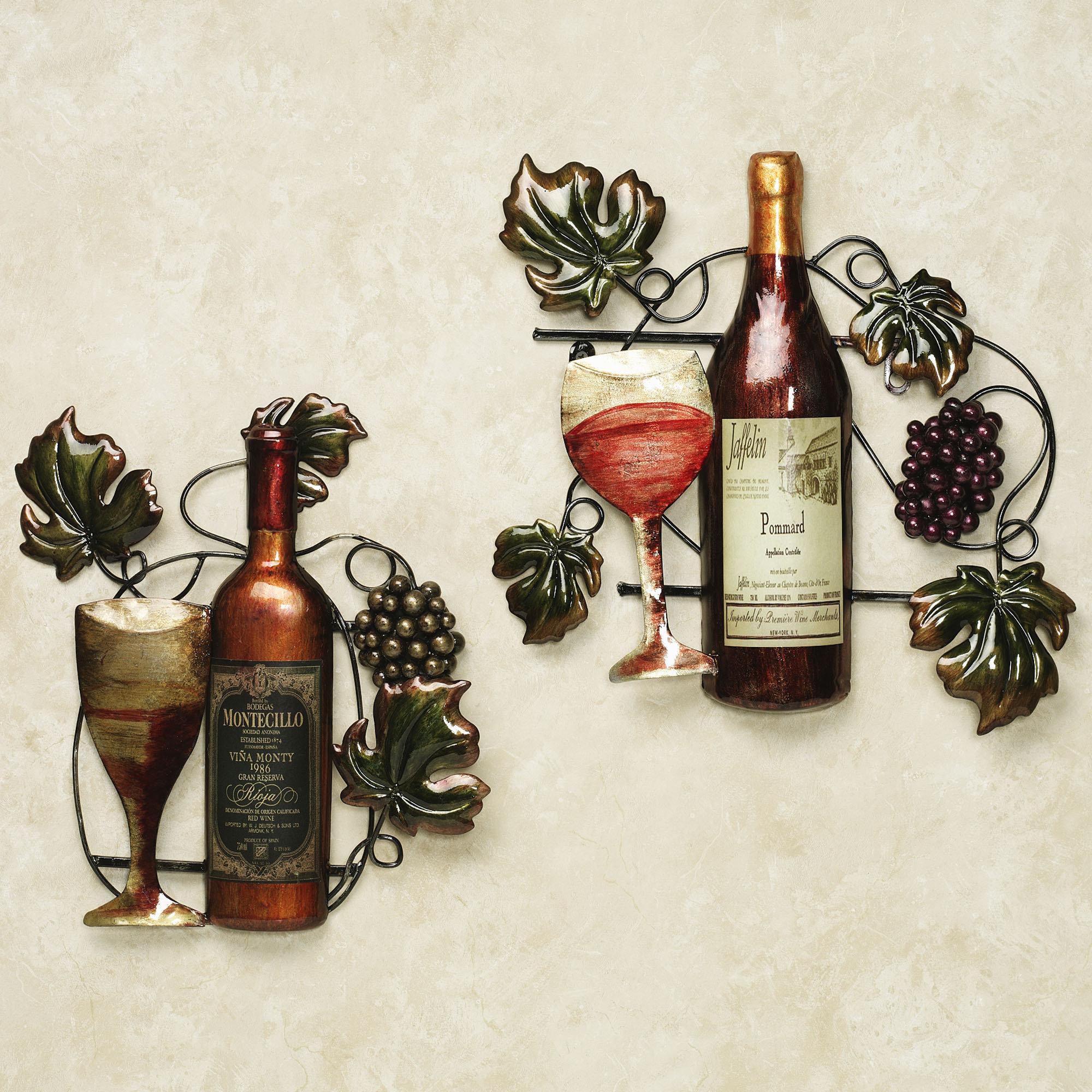 Wine decor for kitchen Photo - 6