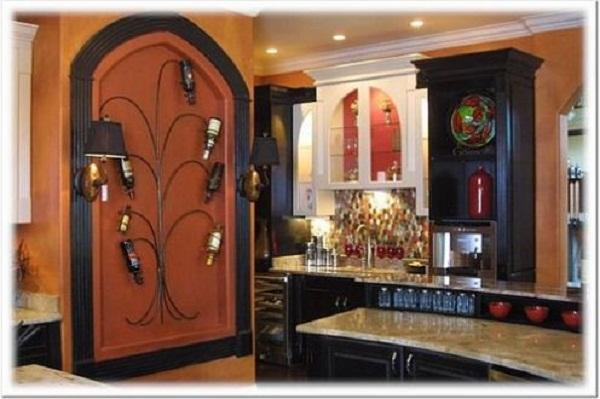 Wine decor for kitchen Photo - 8