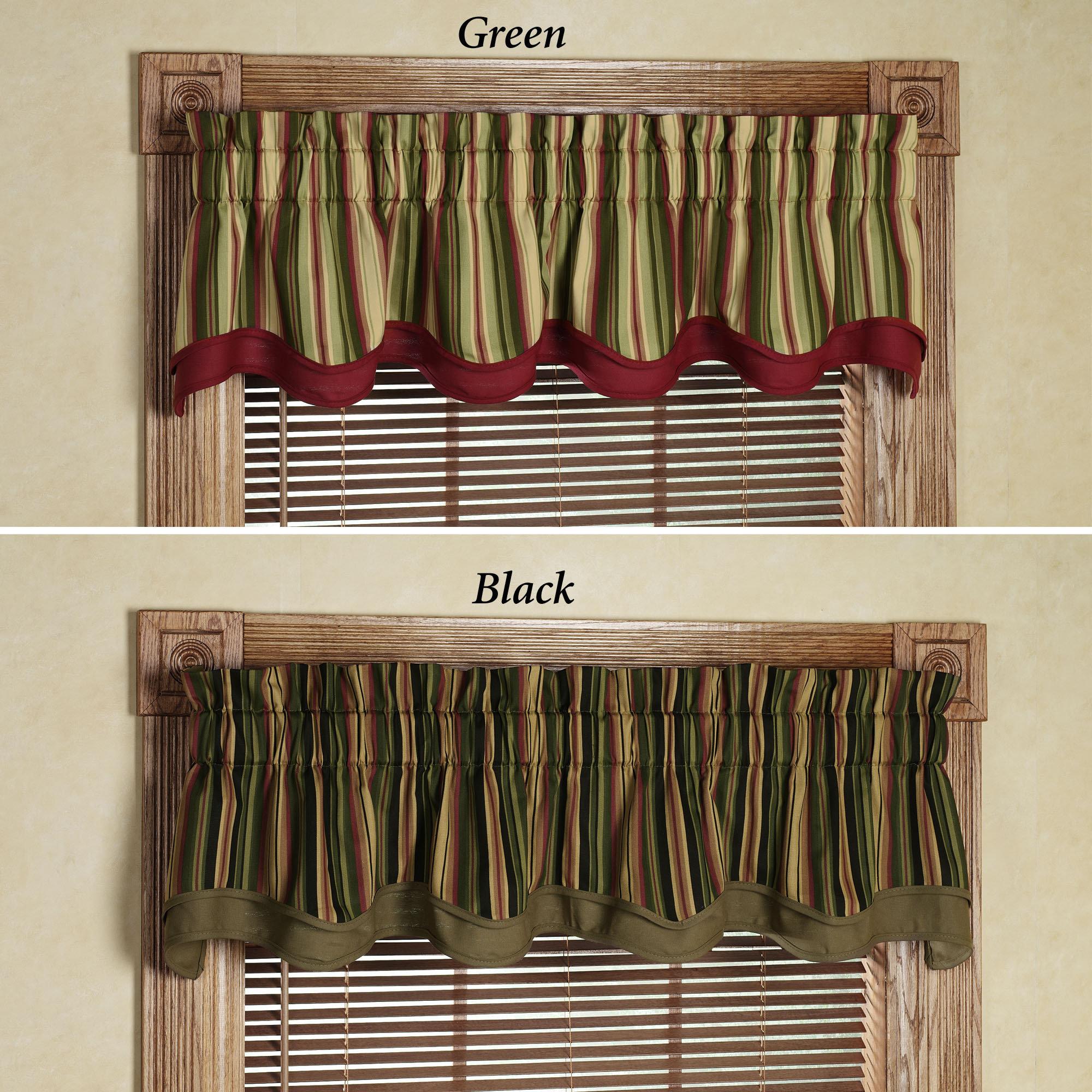 Wine kitchen curtains Photo - 4