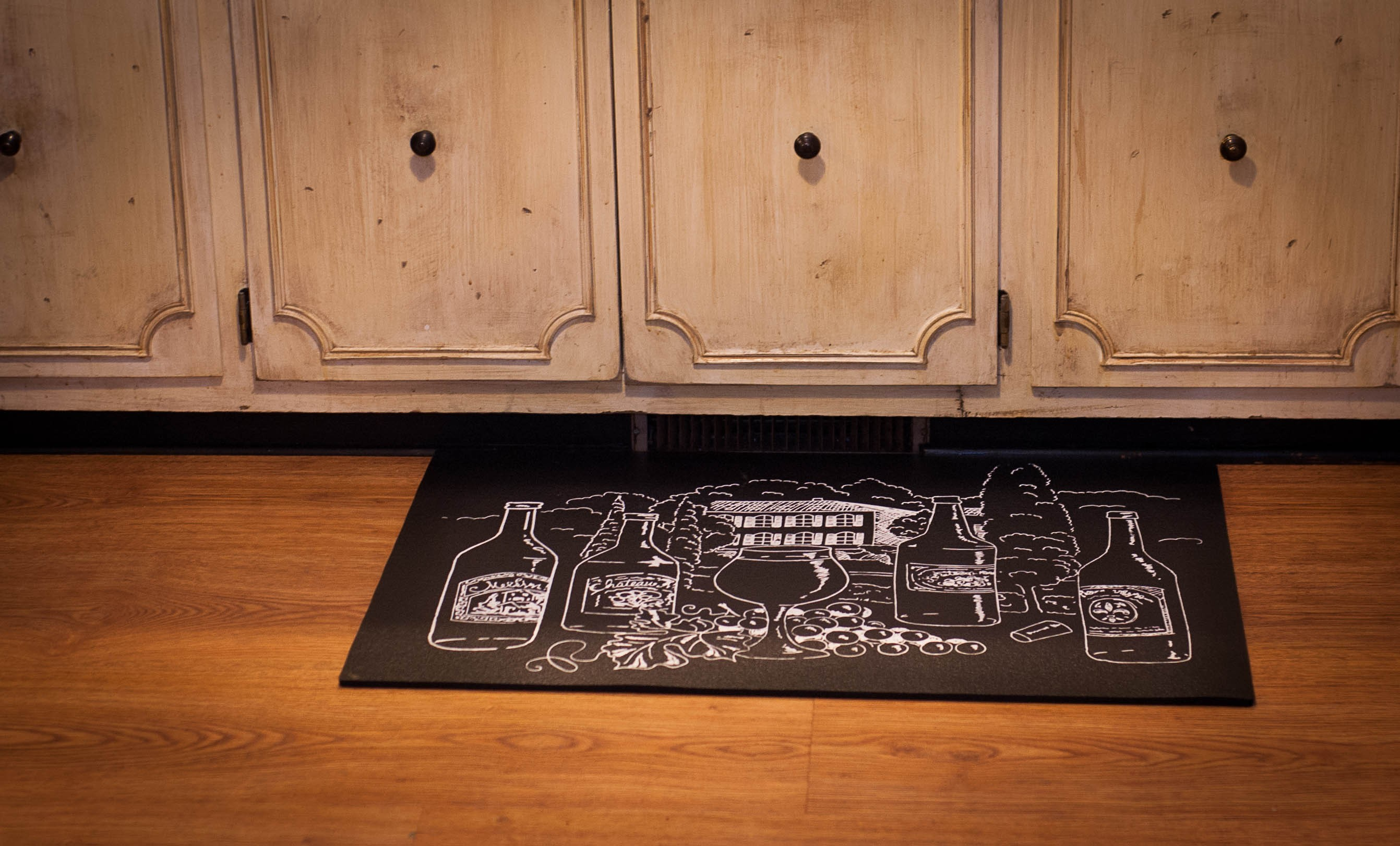 Wine kitchen mat Photo - 3
