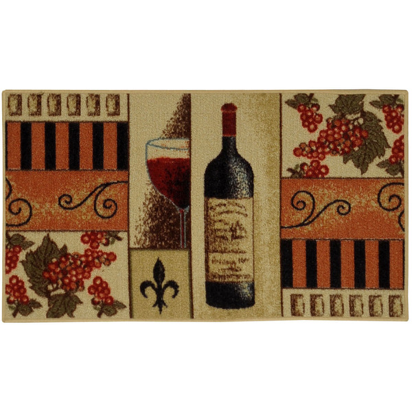 Wine kitchen mat Photo - 4