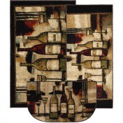 Wine kitchen rugs Photo - 1