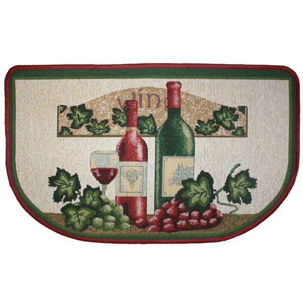 Wine kitchen rugs Photo - 11