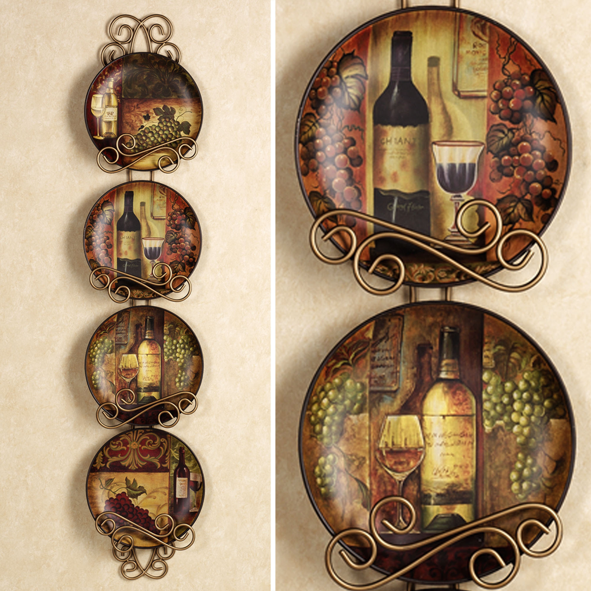Wine themed kitchen rugs Photo - 2