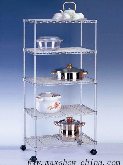 Wire kitchen shelf Photo - 3