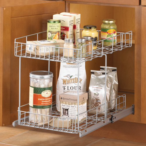 10 Photos To Wire Slide Out Shelves For Kitchen Cabinets