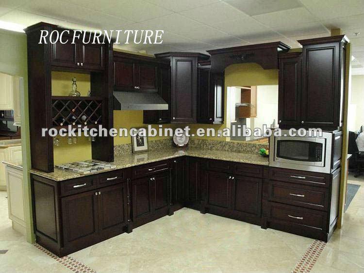 Wood kitchen pantry Photo - 11