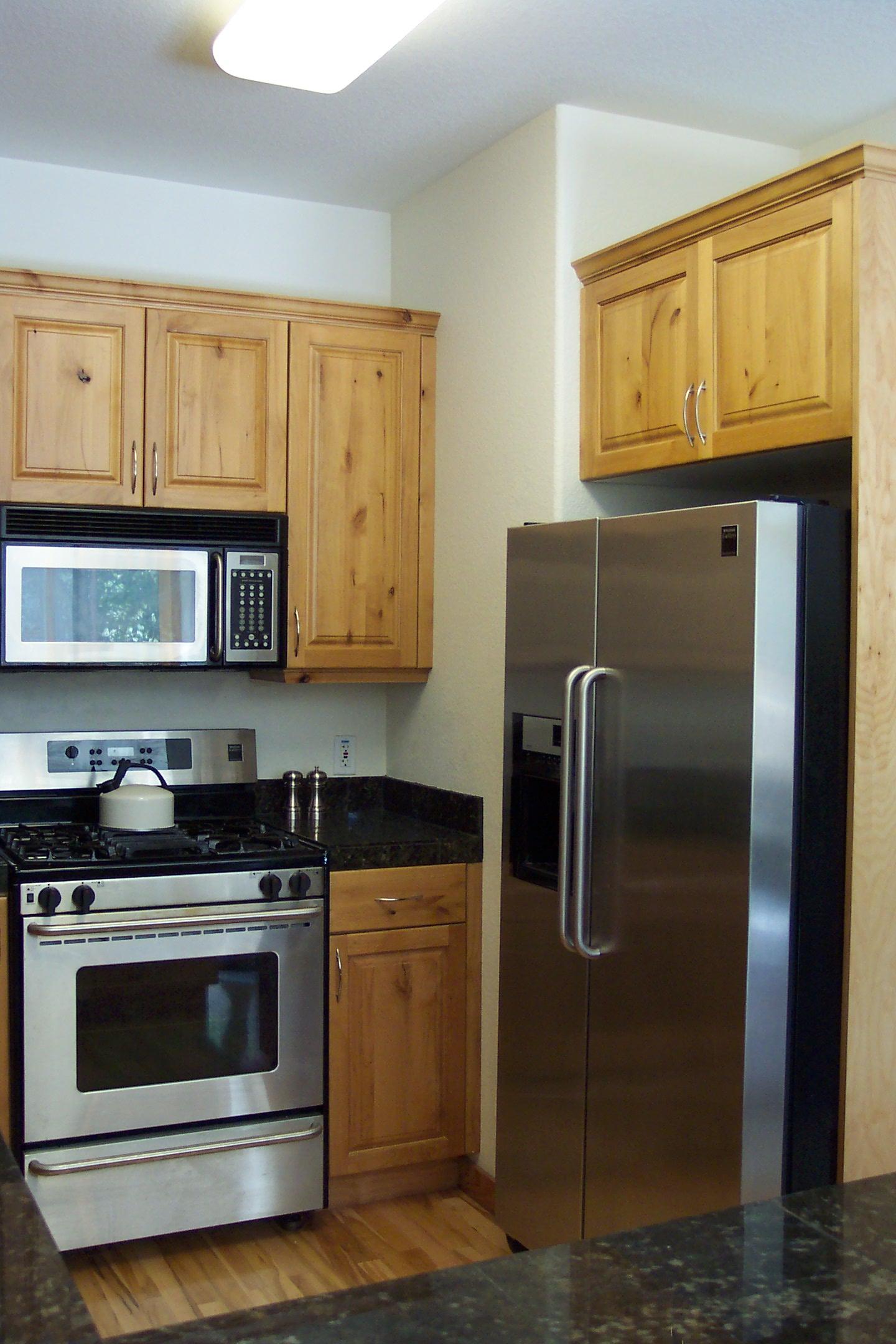 Wood kitchen pantry Photo - 12