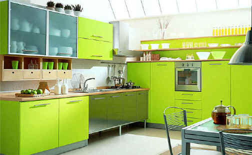 Wood kitchen pantry Photo - 2
