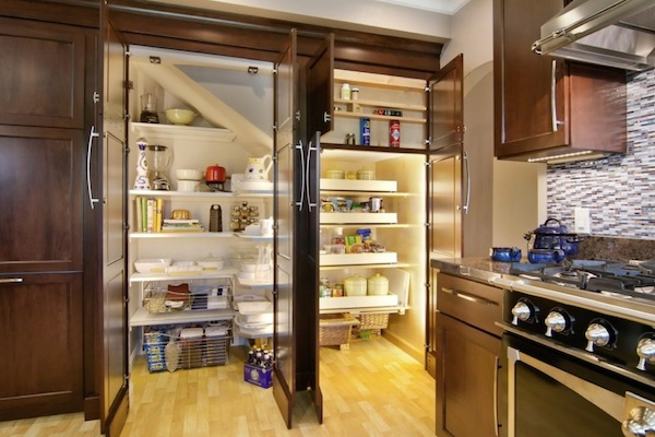 Wood kitchen pantry Photo - 3