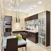 Wood kitchen pantry cabinet Photo - 1