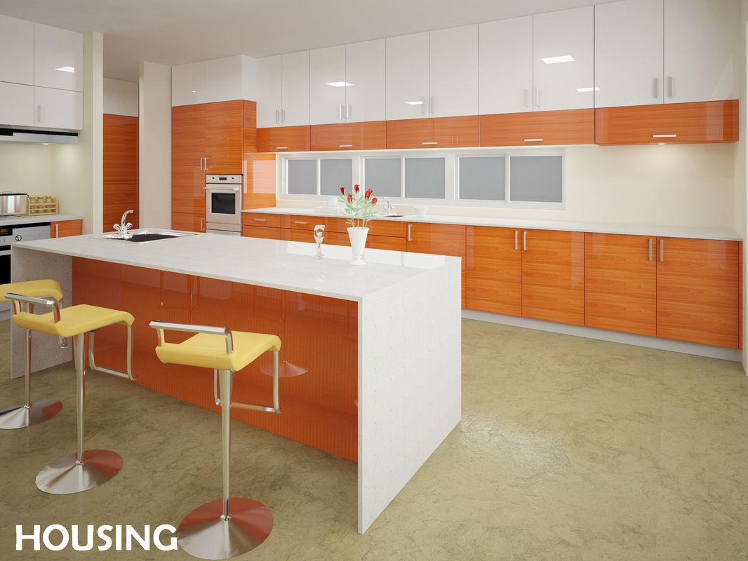 Wood kitchen pantry cabinet Photo - 11