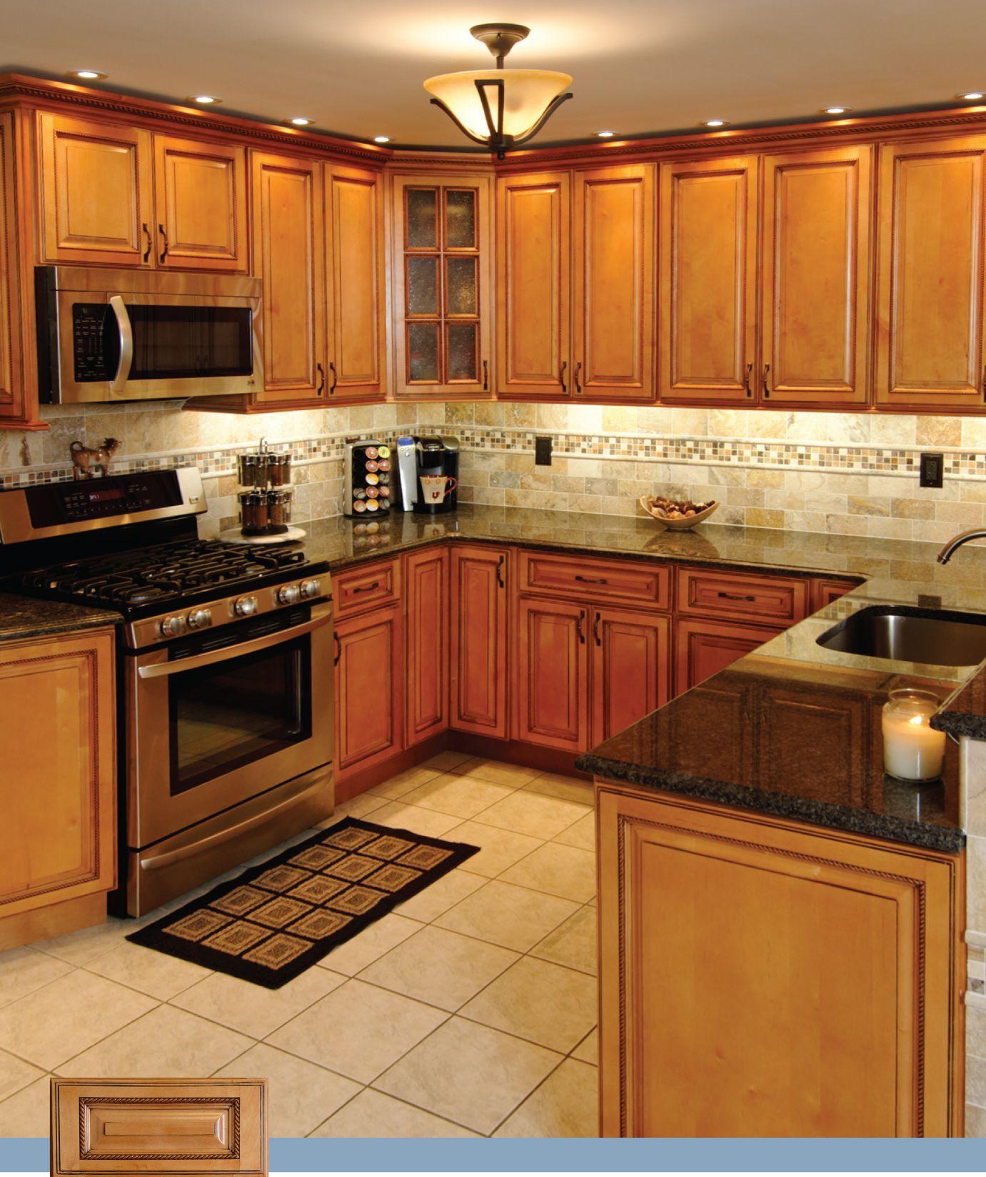 Wood kitchen pantry cabinet Photo - 3