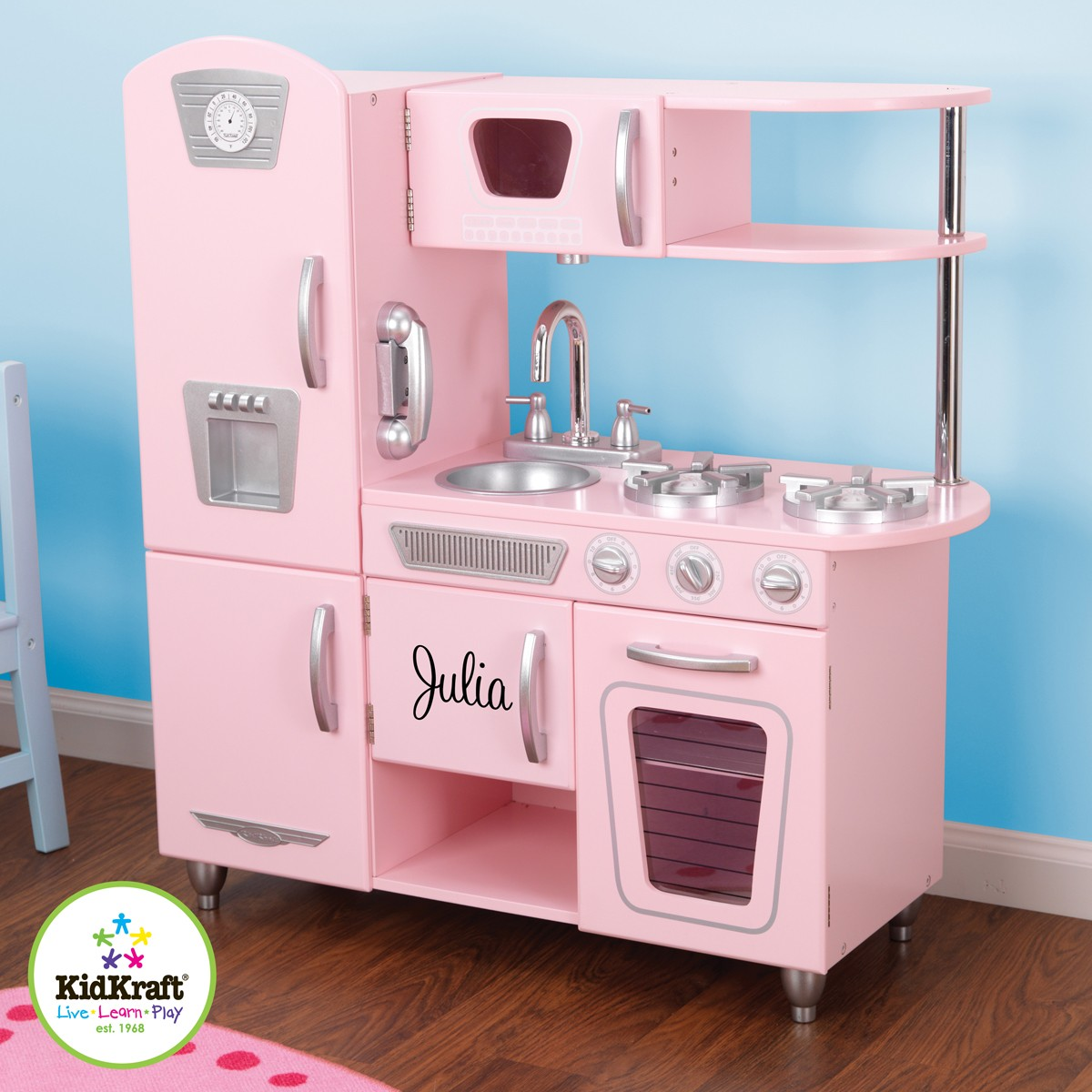 Perfect Wooden Kids Kitchen