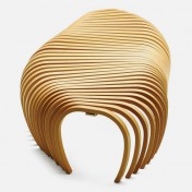 Wooden kitchen bench Photo - 1