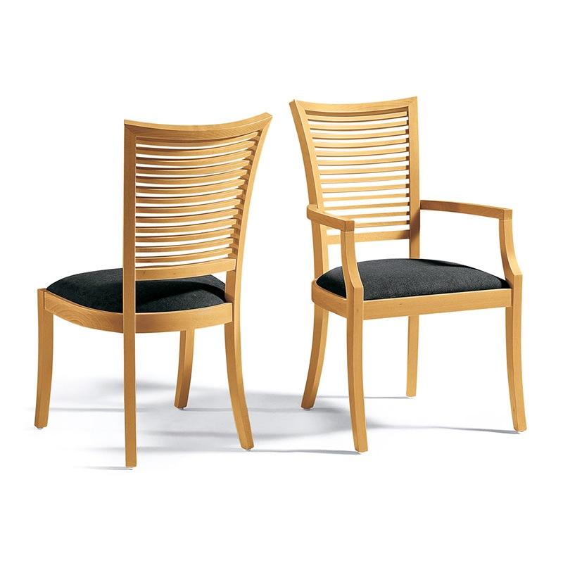 Wooden kitchen chairs Photo - 2