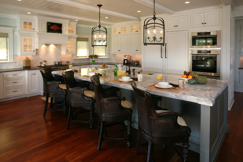 Wooden kitchen chairs with arms Photo - 8