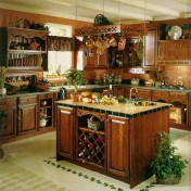 Wooden kitchen islands Photo - 1