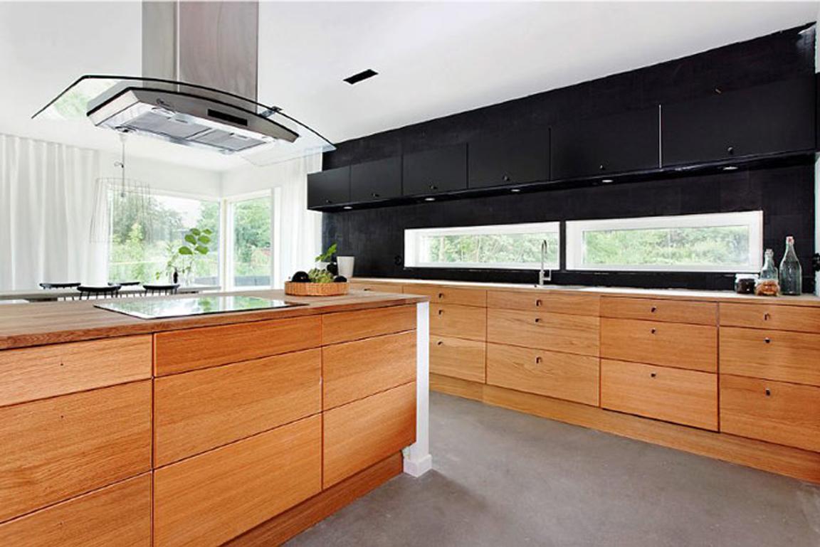 Wooden kitchen pantry Photo - 6