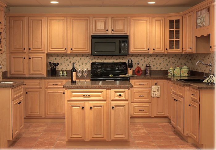Wooden kitchen pantry cabinet Photo - 3