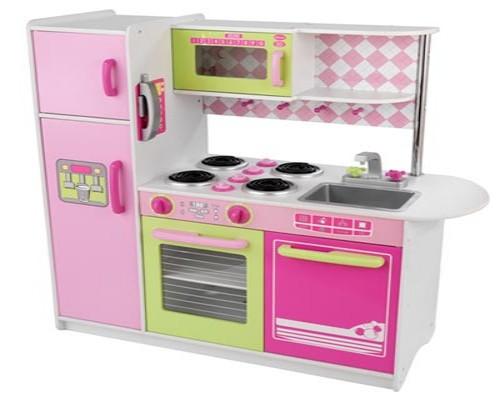 Wooden kitchen set Photo - 1
