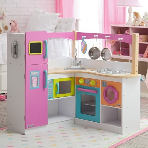 Wooden kitchen set for toddlers Photo - 2