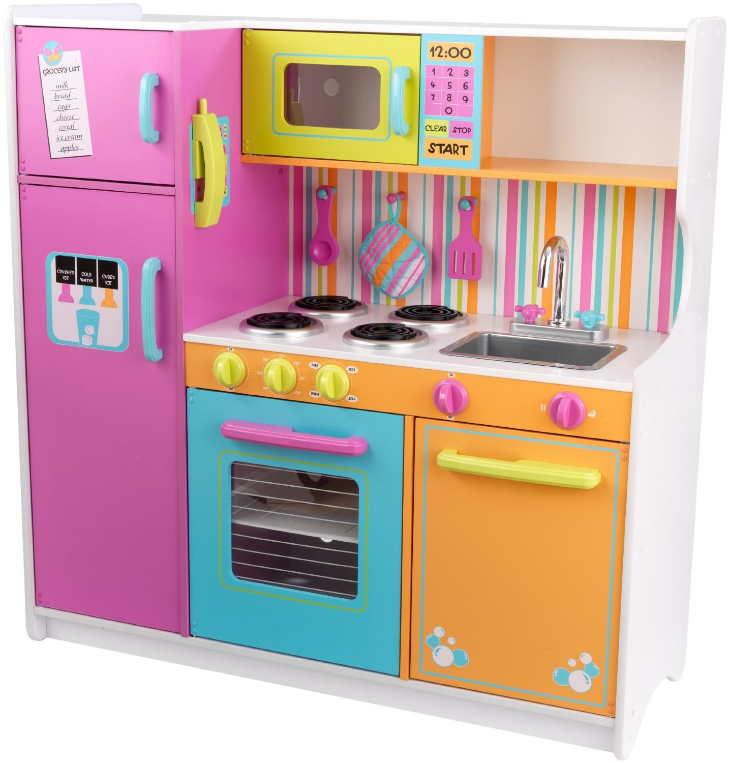 Wooden kitchen set for toddlers Photo - 3