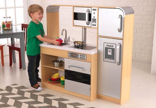 Wooden kitchen set for toddlers Photo - 5