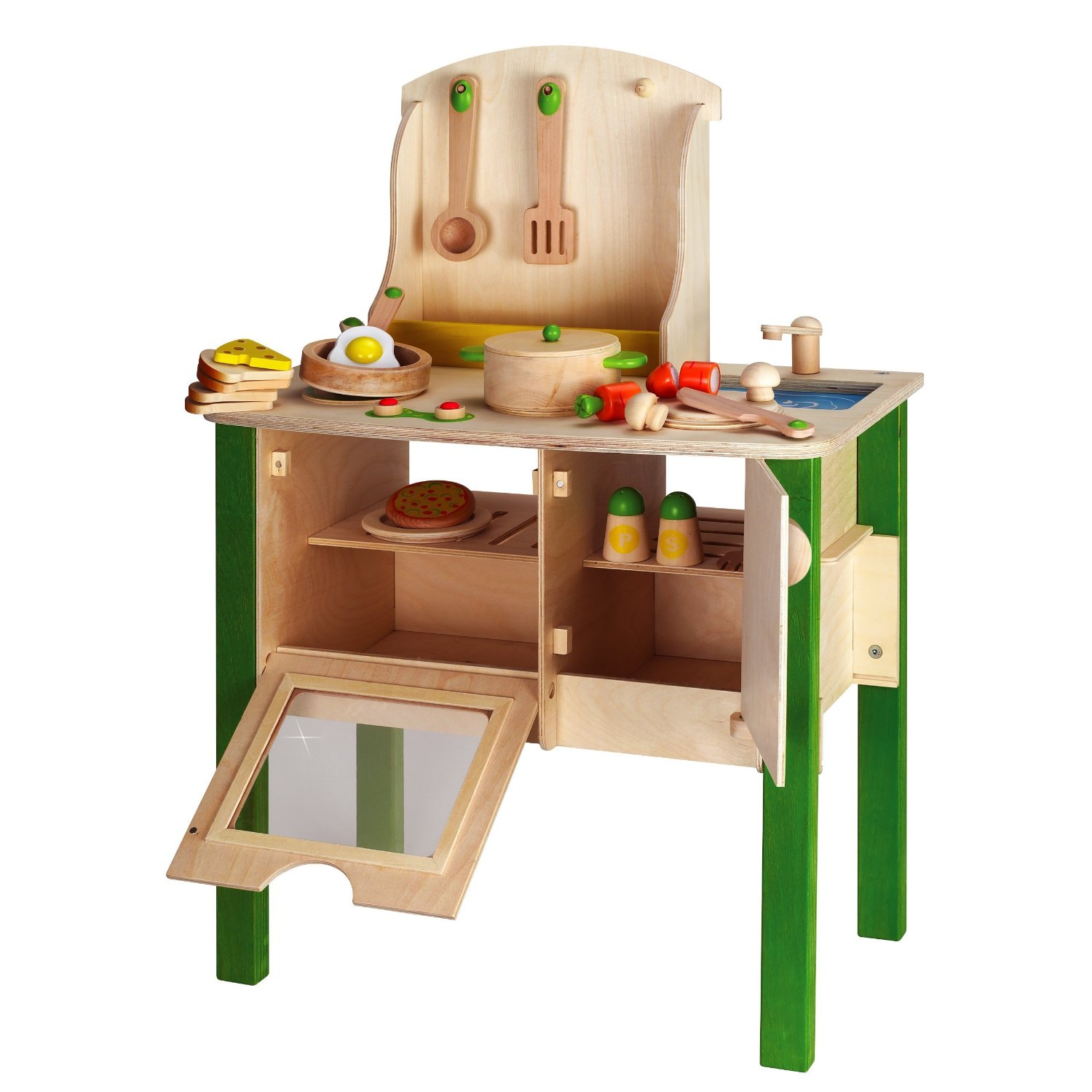 Wooden kitchen set for toddlers Photo - 6