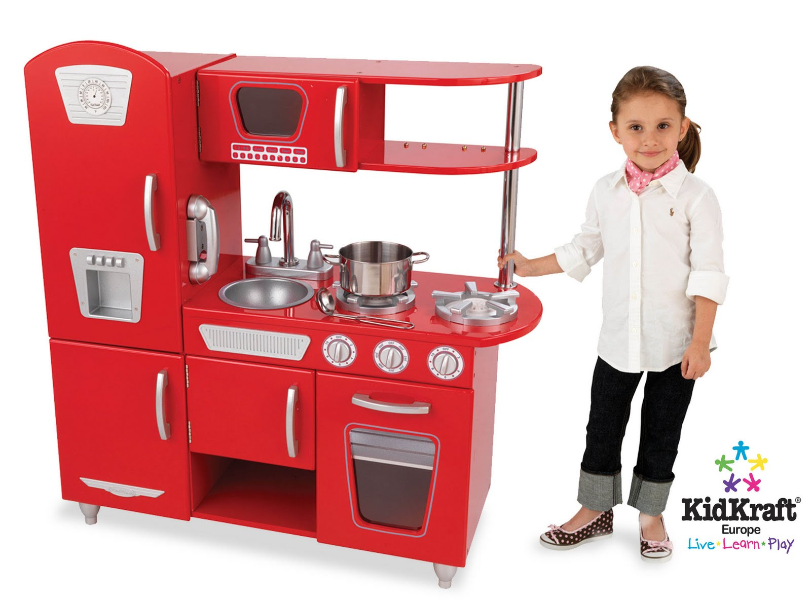 Wooden kitchen sets for toddlers Photo - 2