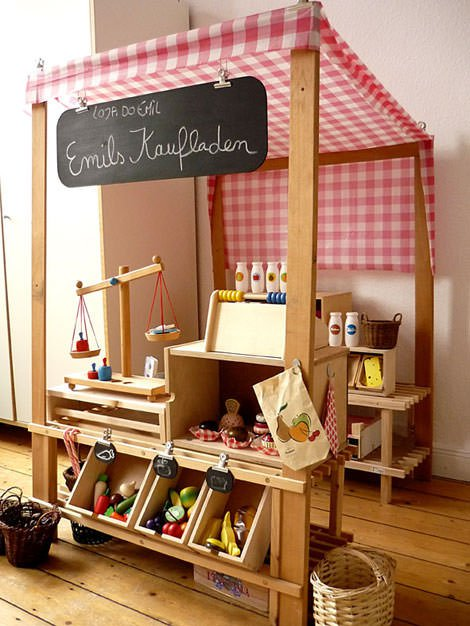 Wooden kitchen sets for toddlers Photo - 5