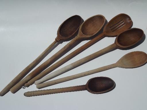 Wooden kitchen spoons Photo - 11