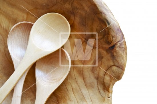 Wooden kitchen spoons Photo - 3