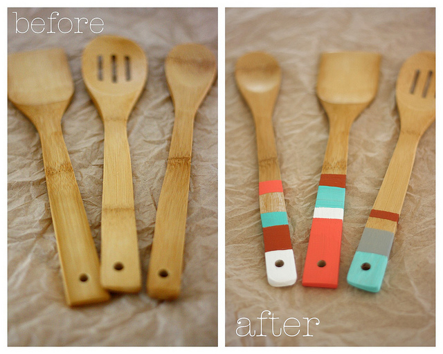 Wooden kitchen spoons Photo - 4