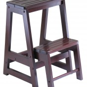 Wooden kitchen step stool Photo - 1