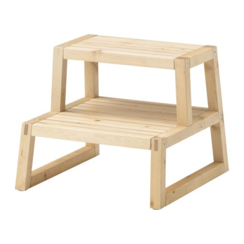 Wooden kitchen step stool Photo - 11